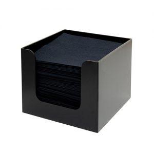 Napkin Holder 1-part black